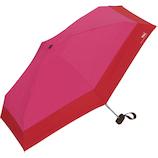 W.p.c 日傘 折りたたみ傘 遮光 切り継ぎ タイニー 晴雨兼用 801−6423MA マゼンダ