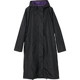 Wpc. コート カラーメッシュコート R−1114 ブラック│レインウェア・雨具 レインコート・ポンチョ