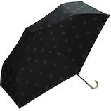 W.p.c 日傘 折りたたみ傘 遮光 スタンプスター mini 晴雨兼用 801−8694BK ブラック