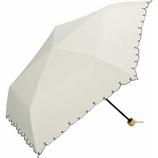 Wpc. 遮光軽量ハートスカラップミニ 日傘 折りたたみ傘 801−2448 オフ│レインウェア・雨具 日傘