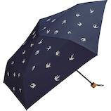 Wpc.日折 遮光軽量ツバメ 801−7130 ネイビー│レインウェア・雨具 折り畳み傘