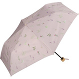 Wpc. 遮光ボタニカミニ 日傘 折りたたみ傘 801−7884 ピンク│レインウェア・雨具 日傘