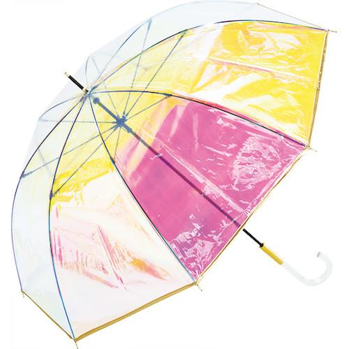 Wpc. 雨傘 パイピングオーロラ PT−028 ゴールド│レインウェア・雨具 傘
