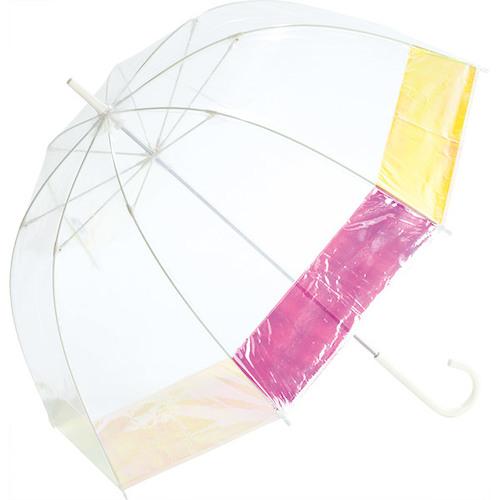Wpc. 雨傘 バードケージオーロラ PT−031 オフホワイト│レインウェア・雨具 傘