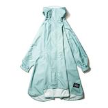 KiU NEWレインポンチョ K163−926 スモーキーミント│レインウェア・雨具 レインコート・ポンチョ