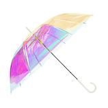 Wpc. 雨傘 オーロラビニール傘 RIB−2002 オフホワイト│レインウェア・雨具 傘