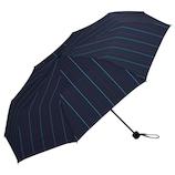 w.p.c 耐風骨折りたたみ傘 MSZ−041 ストライプ│レインウェア・雨具 折り畳み傘