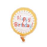 バルーンケーキピック バルーン ケーキピック バースデー 25192 クッキー│パーティーグッズ 風船・バルーン