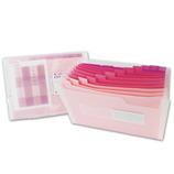 ビュートン エキスパンディングファイル A4 ピンク