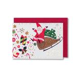 【クリスマス】 クリスマスミニカード GX3314 66×90mm