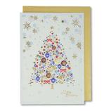 【クリスマス】 イーズ クリスマスカード GX3605 100×140mm