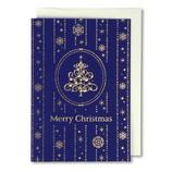 【クリスマス】 イーズ クリスマスカード GX3617 100×140mm