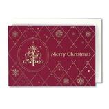【クリスマス】 イーズ クリスマスカード GX3618 100×140mm