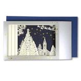 【クリスマス】 イーズ クリスマスカード GX3624 120×210mm
