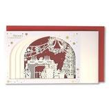 【クリスマス】 イーズ クリスマスカード GX3625 120×210mm