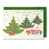 【クリスマス】 イーズ クリスマスカード GX3626 110×155mm