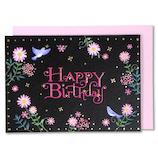 イーズプロダクツ バースディミニカード GB1914│カード・ポストカード バースデー・誕生日カード
