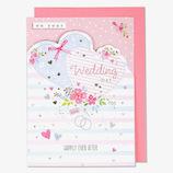 EASE(イーズ) ウエディングカード GW1119 ピンク│カード・ポストカード ウエディングカード