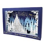 【クリスマス】 イーズプロダクツ クリスマスレーザーカットカード GX3915