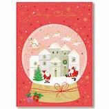 【クリスマス】イーズプロダクツ サンタポストカード PX4051│カード・ポストカード クリスマスカード