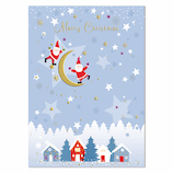 【クリスマス】イーズプロダクツ サンタポストカード PX4052│カード・ポストカード クリスマスカード
