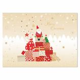 イーズプロダクツ サンタ ポスト カード PX4053│カード・ポストカード クリスマスカード