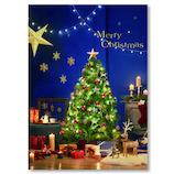 【クリスマス】イーズプロダクツ クリスマスポストカード PX4060