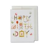 イーズプロダクツ バースディミニカード GB1980│カード・ポストカード バースデー・誕生日カード