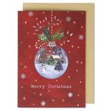 イーズプロダクツ インポート クリスマスカード GX4128│カード・ポストカード クリスマスカード