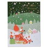 イーズプロダクツ サンタ ポストカード PX4161│カード・ポストカード クリスマスカード