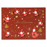 イーズプロダクツ サンタ ポストカード PX4162│カード・ポストカード クリスマスカード