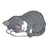 アーティミス(ARTEMIS) ごめん寝マウスパッド サバトラ