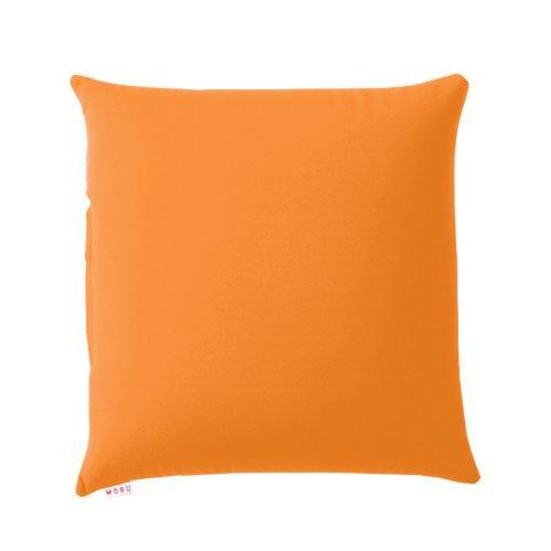 MOGU 背当てクッション 45×45cm オレンジ