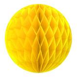 エクセルポイント ハニカムボール  直径10cm 9010/09  イエロー 2個入│パーティーグッズ 装飾用品