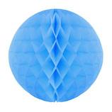 エクセルポイント ハニカムボール 直径10cm 9010/11 ライトブルー 2個入│パーティーグッズ 装飾用品