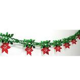 クリスマスミニホイルガーランド 6920│パーティーグッズ 装飾用品