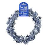 【クリスマス】ハイデライト スノーフレークワイヤーガーランド 6972 7.5m