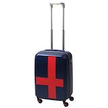 イノベーター(innovator) スーツケース ジッパー INV48T ネイビー×レッド 38L