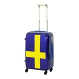 イノベーター スーツケース ジッパー 50L INV55T ブルー×イエロー
