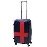 イノベーター(innovator) スーツケース ジッパー INV55 ネイビー×レッド 50L
