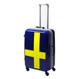 イノベーター スーツケース フレーム 90L INV68T ブルー×イエロー