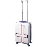 イノベーター(innovator) スーツケース ジッパー INV48T ホワイトトリコ 38L