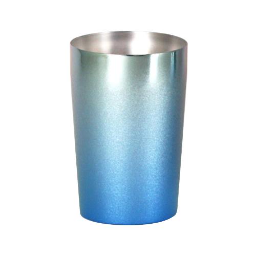 ブルー チタン二重タンブラー T09-CK02NC