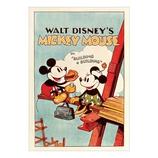 アクティブ ディズニー ポストカード ミッキーマウス D002