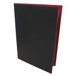 エイム メニューブック A4新 RB201 黒