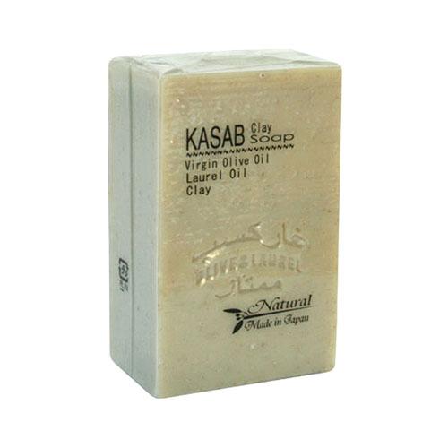 カサブクレイ石鹸 130g│石鹸 固形石鹸