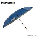 innovator 晴雨兼用折畳傘 ディープブルー│レインウェア・雨具 折り畳み傘