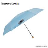 イノベーター(innovator) 軽量折畳雨傘 ライトブルー│レインウェア・雨具 折り畳み傘