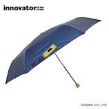 イノベーター(innovator) 軽量折畳雨傘 ネイビー│レインウェア・雨具 折り畳み傘