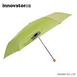 イノベーター(innovator) 軽量折畳雨傘 グリーン│レインウェア・雨具 折り畳み傘